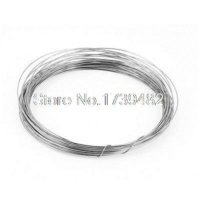 Round Wire 1mm 18 Gauge AWG 82ft Roll Heating Heater Wire 50ft long 0 7mm awg21 gauge nichrome resistor wire for frigidaire heater