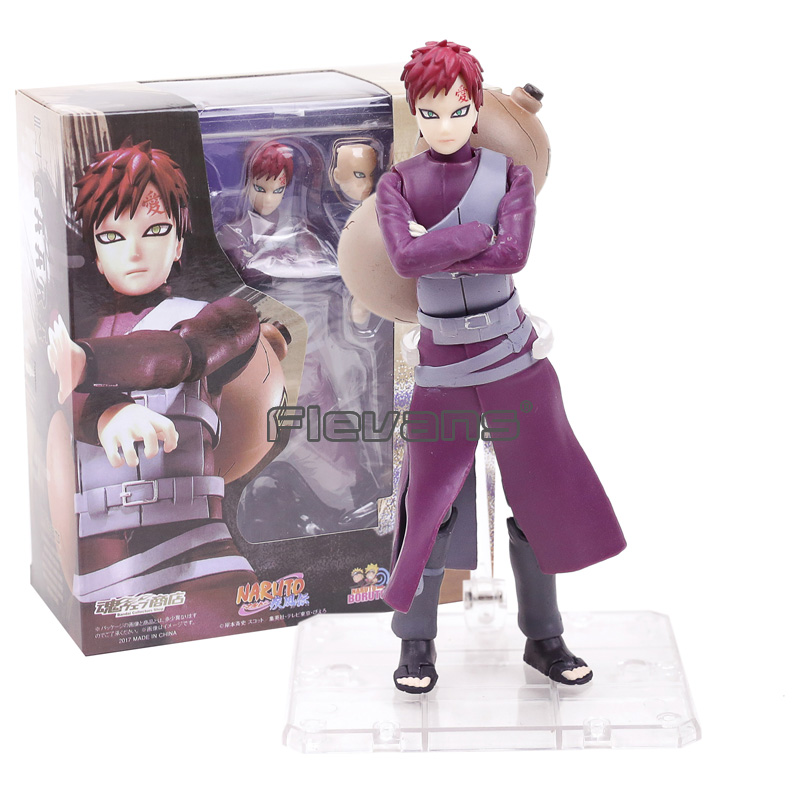 Naruto Shippuden SHF S.H.Figuarts Gaara PVC Action Figure Collectible Model Toy shfiguarts batman injustice ver pvc action figure collectible model toy 16cm kt1840