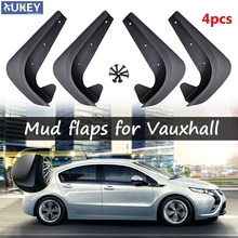 Molded Mud Flaps For Vauxhall Opel Adam Astra Corsa Meriva Mokka Signum VAX Mudflaps Splash Guards Flap Mudguards Car Styling