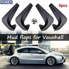แผ่นปิดโคลนสำหรับVauxhall Opel Adam Astra Corsa Meriva Mokka Signum VAX Mudflaps Splash Guards Flap Mudguardsรถจัดแต่งทรงผม