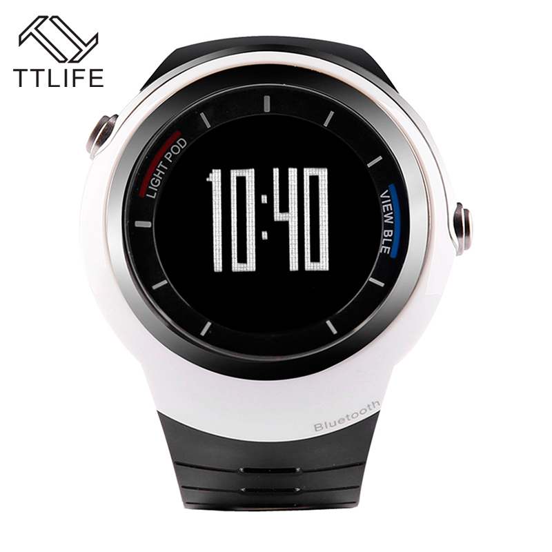 ФОТО TTLIFE Bluetooth 4.0 Smart Watch Men Sports Wristwatches Pedometer Calories Count Digital Call Reminder Montre Homme for Outdoor