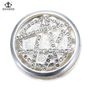 Image 2 - Star Carved Rhinestone Inlaid Powerful Magnet Buckle Retro Muslim Magnet Pin Ladies Dress Brooch DIY Magnetic Needle