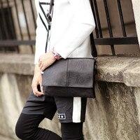 Tidog Men's small bags leather bag fashion tide shoulder bag