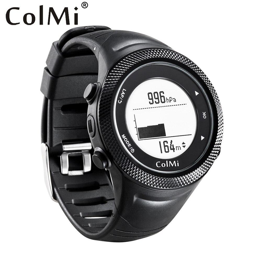 ColMi Смарт-часы gps местоположение 5ATM IP68 Водонепроницаемый Давление Температура высотомер Компас G-senser Для мужчин трекер для андроид IOS