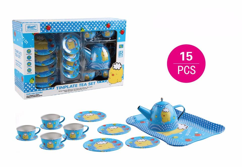 3 Blue yellow bird set