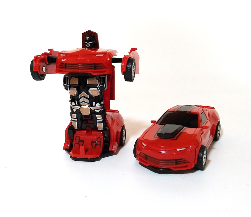 Transformation Mini Cars Kid Classic Robot Car Toys For ...