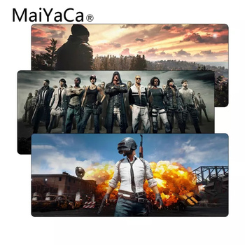MaiYaCa Playerunknown's Battlegrounds Speed Large Pubg Gaming Mouse Pad Mat Rubber LockEdge MousePad Gamer Mat for Desk Computer maiyaca hot sales anime steins gate natural rubber gaming mousepad desk mat large lockedge mousepad laptop pc computer mouse pad