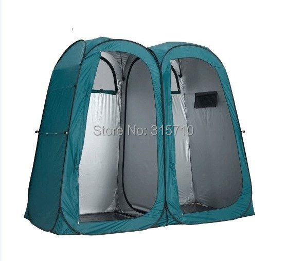 Accept OEM order!Direct factory!Double Pop Up Shower Tent Ensuite Change Room Toilet/3function pop up portable tent тушь make up factory make up factory ma120lwhdr04