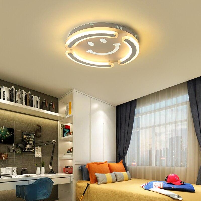 VeiHao Modern led Chandelier For Bedroom Children Kids Study Room Led Home Deco Ceiling Chandelier fixtures