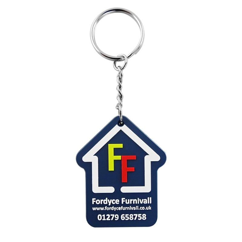 Lettre logo personnalisé pvc porte-clés toute forme couleur logo personnalisé porte-clés CS-KR-special-01
