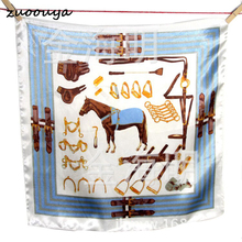 Spring and summer sunscreen scarves silk wild professional scarf men and women scarves #130058(China)