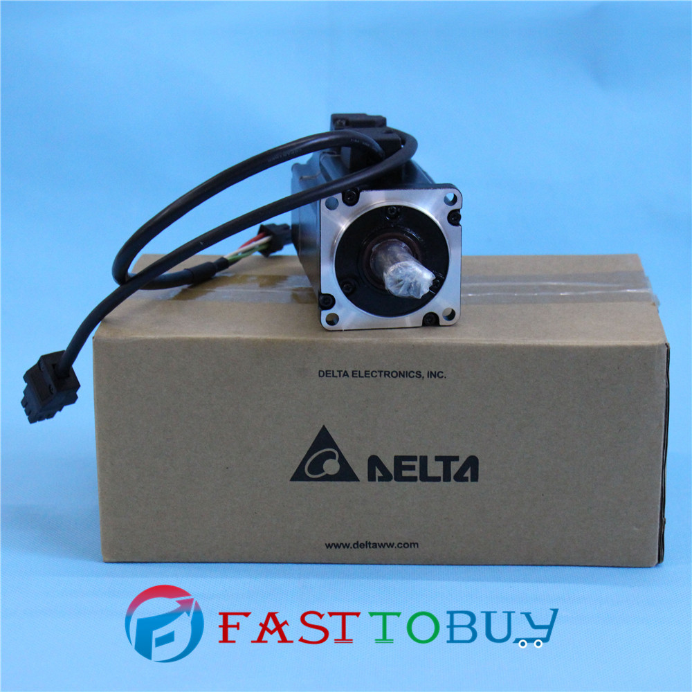 Delta AC Servo Motor 220V 750W 2.39NM 3000rpm ECMA-C10807SS with Keyway Oil Seal brake New new original 750wa2 series motor ecma c10807rs 220v 750w 2 39nm 3000rpm ac servo motor with keyway oil seal