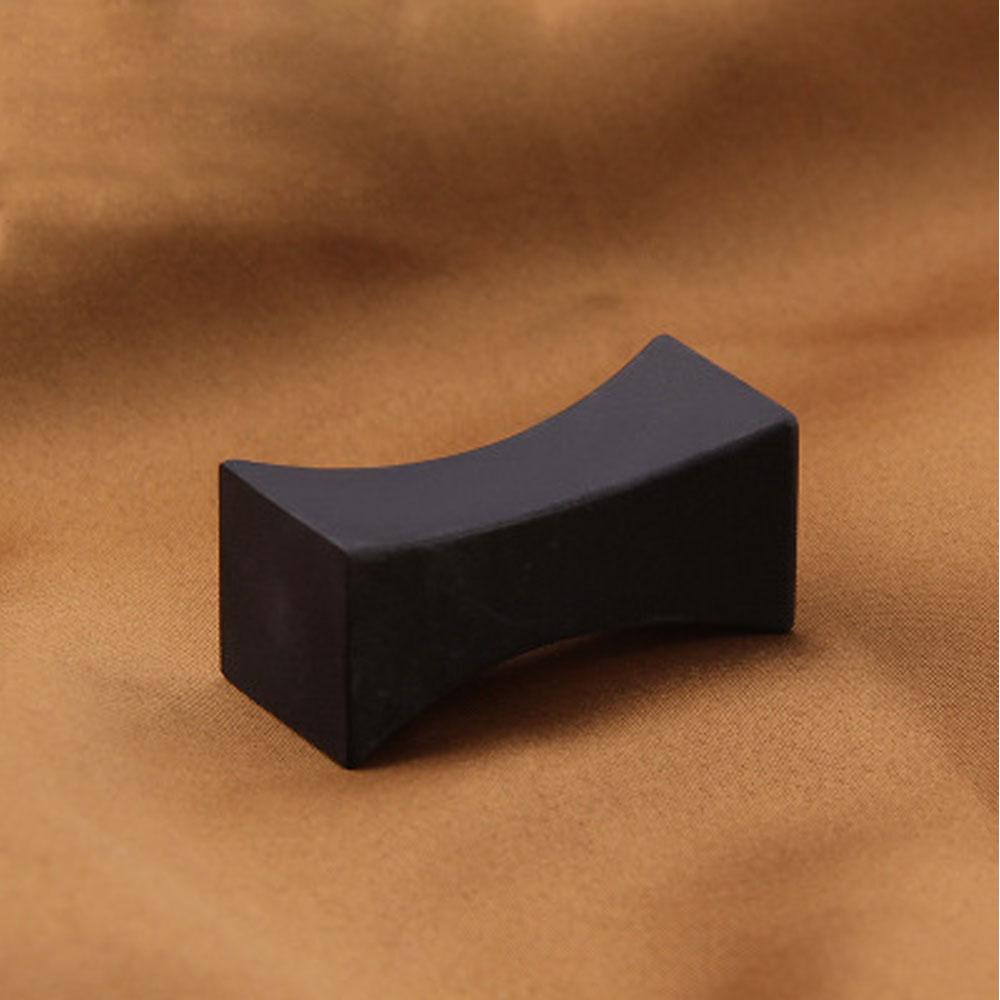 Визуальная сенсорная китайская палочка для еды, подставка для еды, подставка для ложки - Цвет: Черный