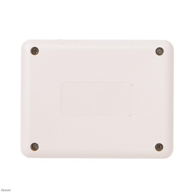 Водонепроницаемый ящик для инструментов пластиковый чехол серый электронный проект DIY 90x70x28mm Damom