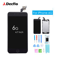 Factory OEM Full Replacement LCD Assembly Touch Screen Digitizer For IPhone 6 6G Home Button Front