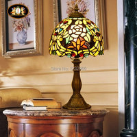 Tiffany Style Tiffany Table Porch Light Hand Made Desk Lamp Light Equivalent To 40w For Club