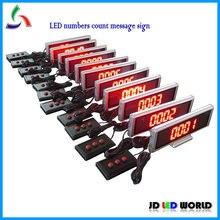 Светодиодный дисплей с цифрами, светодиодный экран, счетчик цифр 4