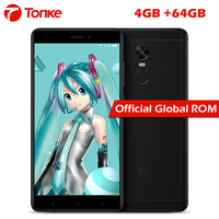 Original Xiaomi Redmi Note 4X 4GB 64GB Pro Prime Mobile Phone MTK Helio X20 Deca Core 5.5