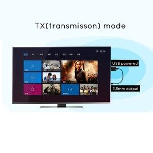 Image 5 - Nouveau Bluetooth 5.0 RX TX 2 en 1 émetteur récepteur sans fil adaptateur A2DP USB 3.5mm Jack voiture AUX Audio musique pour TV PC casque