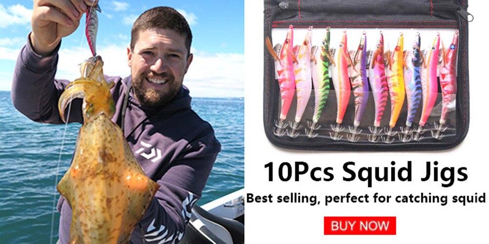 Htdob 4 Seções Isca De Pesca 16.8g