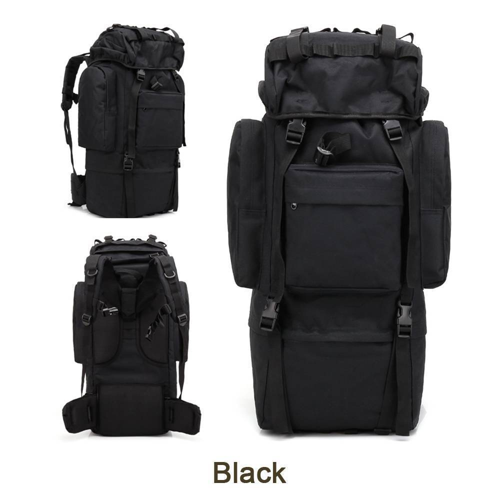 65L Large Capacity Mountaineering Bag High Quality Outdoor Tactical Backpack Waterproof Travel Hiking Camping Tactical Bag65L Large Capacity Mountaineering Bag High Quality Outdoor Tactical Backpack Waterproof Travel Hiking Camping Tactical Bag