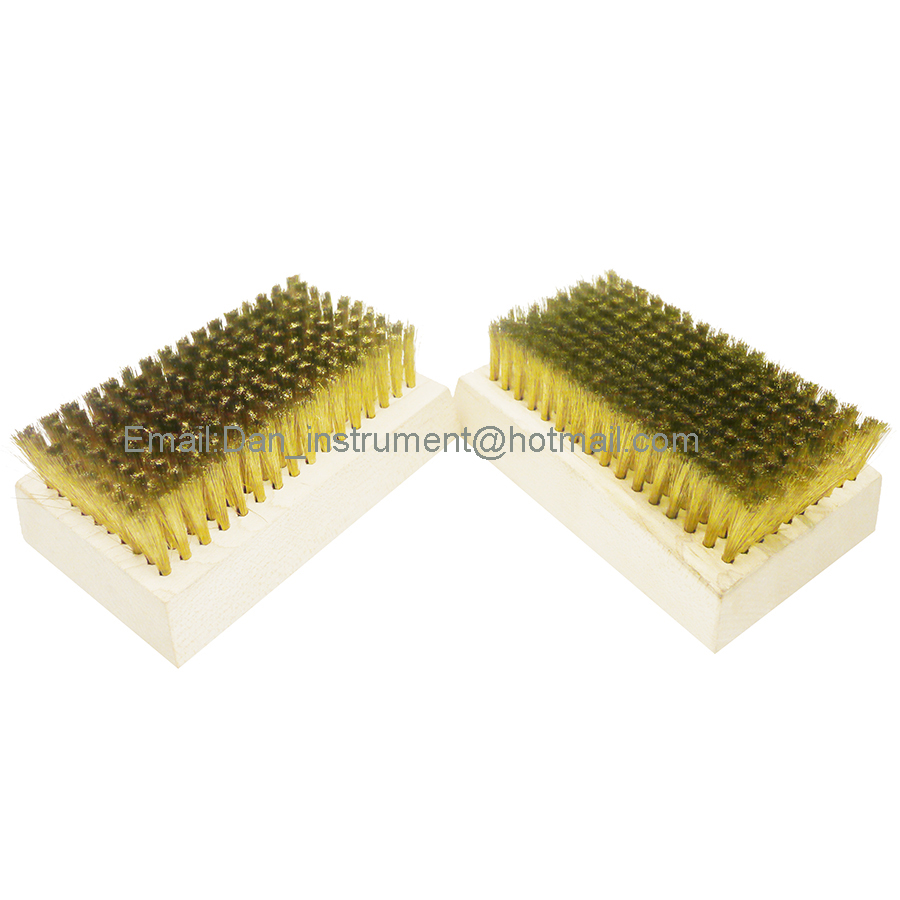 Anilox Roller cleaning Copper Brush , Brass wire brush