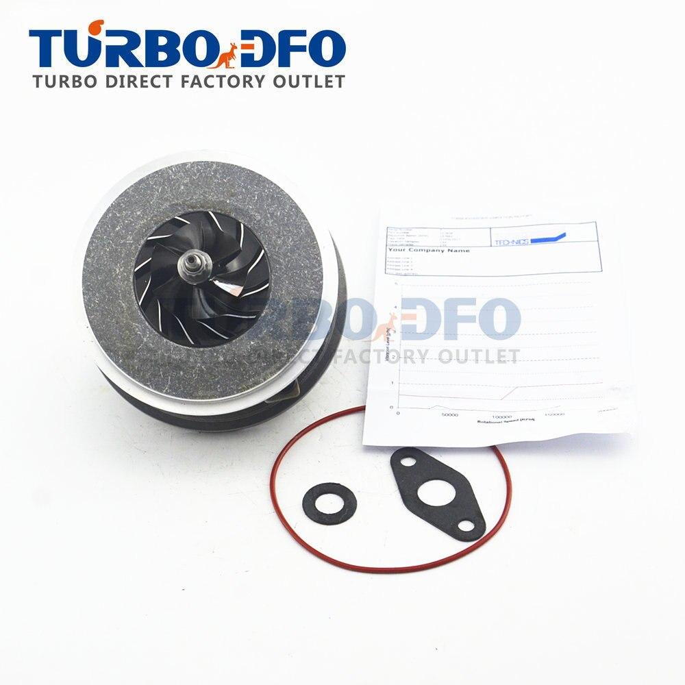 NEW CHRA 717858 For Skoda Superb 130 HP 96 Kw 1.9TDI AWX AVF - 717858-0001 Turbine Core Balanced 716215 Garrett Cartridge Turbo