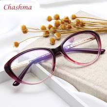 Women Cat Eyes Black Glasses Stylish Eyewear Eyeglasses Myopia Spectacle