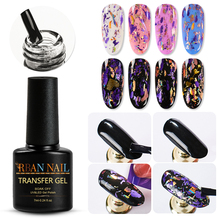 RBAN NAIL Nail Foil Adhesive Glue For Nail Art Transfer Foils Paper Stickers Gel Polish Brush Manicure Tips Decorations Tool cheap 1pc white nail glue for galaxy star foil stickers nail art 16ml transfer decoration nails tips adhesives