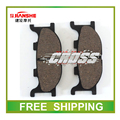 Jianshe 150cc pastillas de freno delanteras JS150-3 R6 JS150 JS150-A/F3/F2 150cc motocicleta accesorios envío gratis