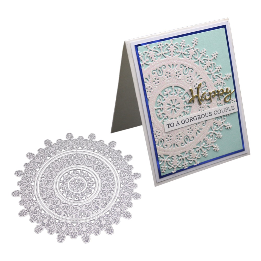 Picture Frame Metal Cutting Dies Picture Stencils Scrapbooking Embossing Paper