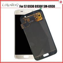 Display S7 G930 For Samsung Galaxy S7 G930 G930F SM-G930 SM-G930F LCD Display Touch Screen Digitizer Assembly аксессуар чехол samsung galaxy s7 g930f mofi vintage black 15104