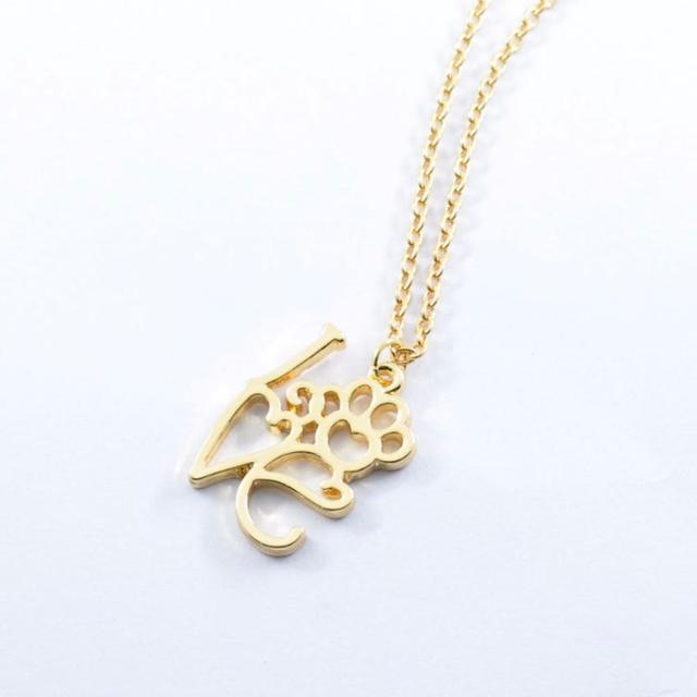 brixini.com - Paw Love Pendant Necklace