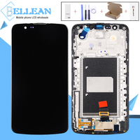 Catteny For LG K10 TV Display Screen For LG K10 K430 K430DS K420N 420N LCD Touch Screen Digitizer Assembly With Frame With IC