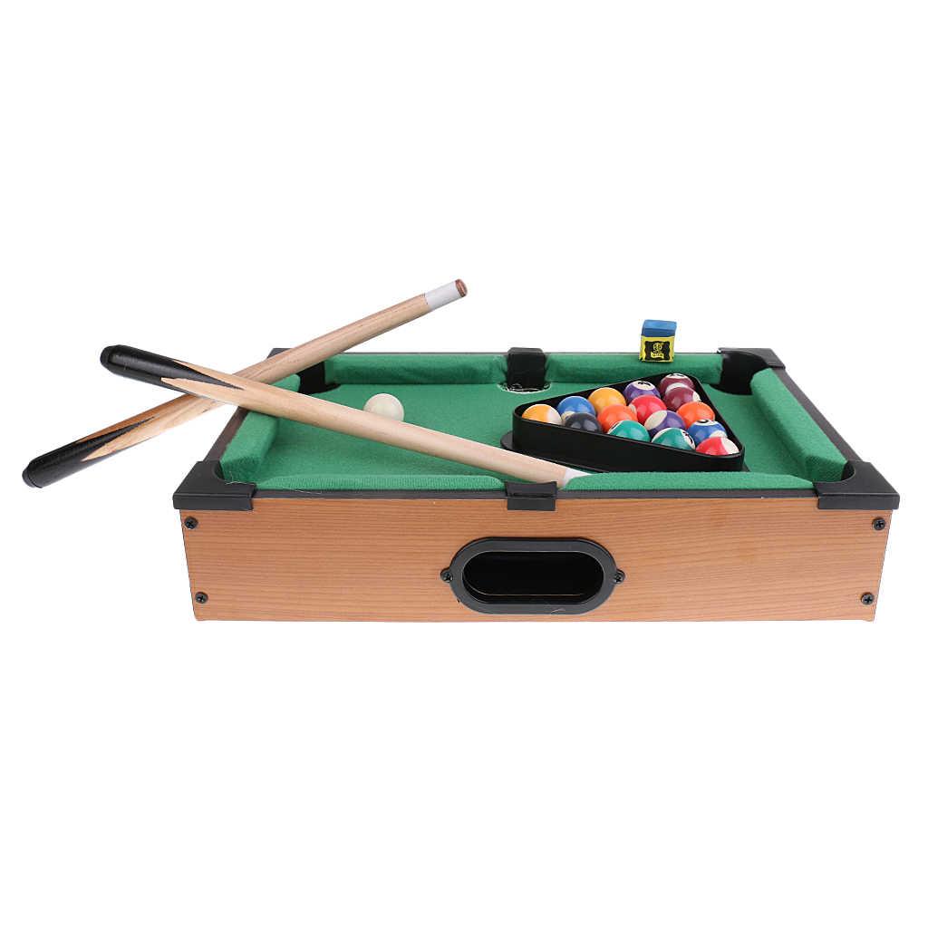 Juego de deportes Mini juego de mesa de billar mesa de juego de mesa de escritorio juguete chico