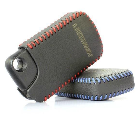 Monedero anillo Key Holder Bag cuero genuino bolsa control remoto clave para Elysion bolso dominante