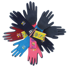 5 Pair Children Garden Work  Gloves For Kids