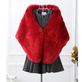 vest mink coat New 2016 Winter Coat shawl Women  Whole Fox Fur Faux Vest High-Grade  Women Coat Size:S-XXXL
