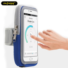 Mobile motion phone armband cover to run holder arm band on the for 4-6 inch universal bag