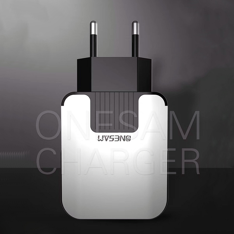 USB Power adapter Charge quick 2 4 for iPhone X 8 7 iPad Fast Wall Charger for Samsung S9 Xiaomi mi8 Huawei Mobile Phone Charger in Mobile Phone Chargers from Cellphones Telecommunications