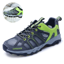 купить New Arrival Men Breathable Trekking Aqua Shoes Men Women Water Sports Shoes Summer Hiking Outdoor Sneakers Walking Fishing недорого