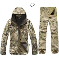 High Quality Waterproof Windproof Army Clothing Lurker Shark Skin Soft Shell TAD V 4 0 Military