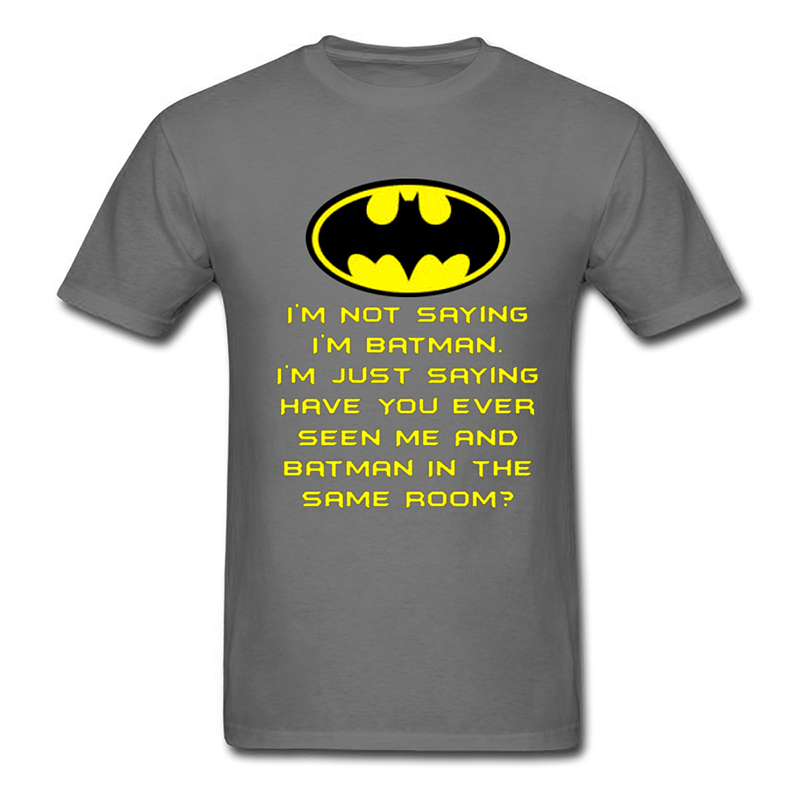 Aliexpress.com : Buy Funny T Shirt Men's I'm Not Saying I'm Batman ...