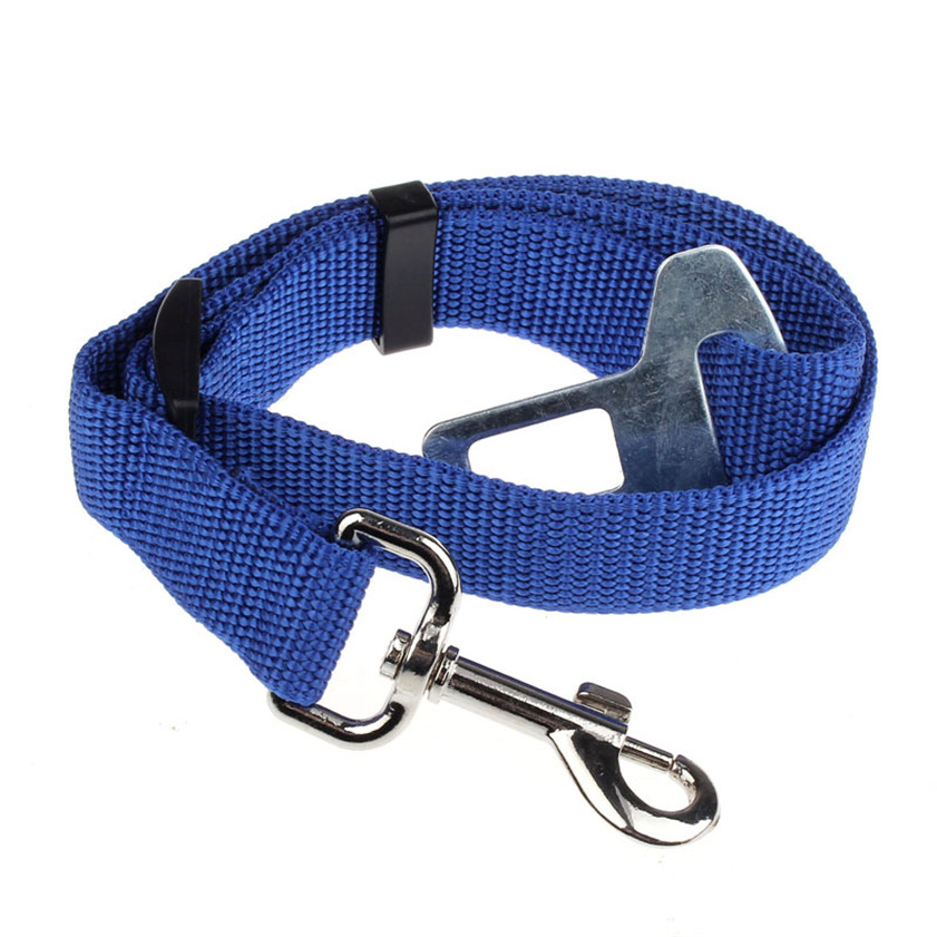 High Quality 4 Colors Vehicle Car Seat Belt Seatbelt Harness Lead Clip Pet Cat Dog Safety Leads 12.18