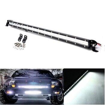 25inch 72W Slim Led Light Bar LED Waterproof External driving Lights Lamp Spot Flood for Automobile Truck SUV ATV Jeep headlight