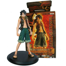 One Piece 2pcs/lot Monkey.D.Luffy Portagas D Ace PVC Action Figure Set Toy