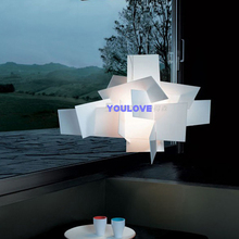 цены Foscarini Paper Piles Droplights Modern Big Bang Pendant Lights Fixture White Red Dining Room Bed Room Restaurant Pendant Lamps