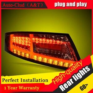 Image 2 - Yeni LED arka lambaları meclisi Audi TT 2006 2013 için LED arka lamba fren ters arka arka lamba DRL araba park lambaları