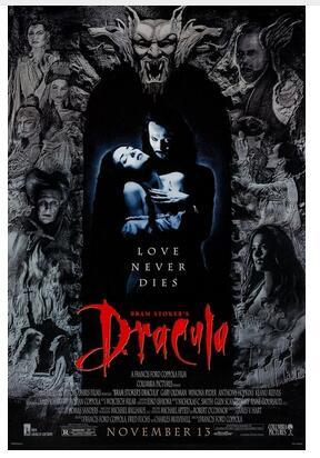 BRAM STOCKER'S DRACULA (1992) Art Wall Decor Silk Print Poster