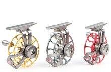 Full metal ultra-light 50g former ice fishing Reels wheel fly fishing reel CNC Machined Aluminum right hand